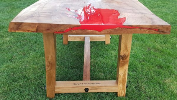Fire Table Side View
