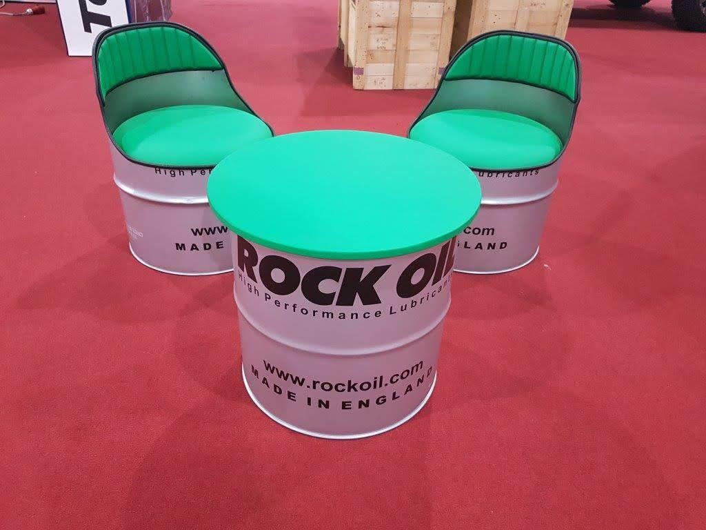 Oil Drum Furniture Set – Conkers Wood