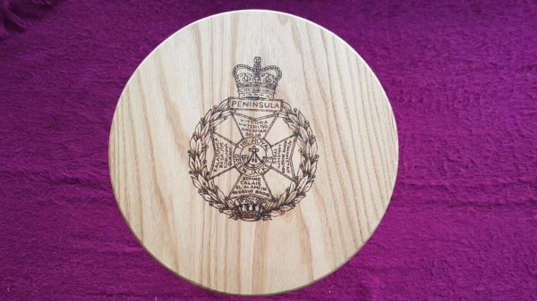 Royal Green Jackets Side Table