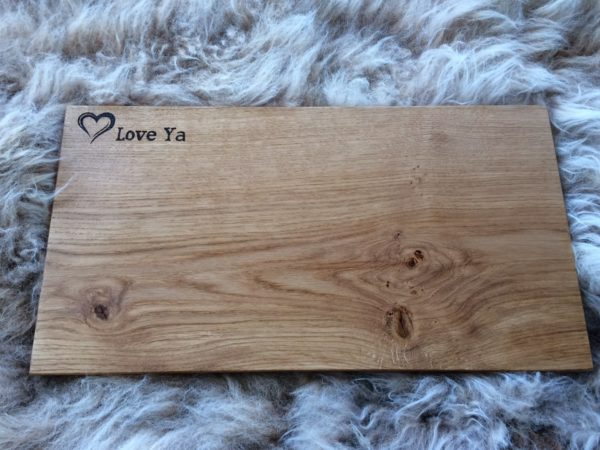 Bespoke Personalised Chopping Board