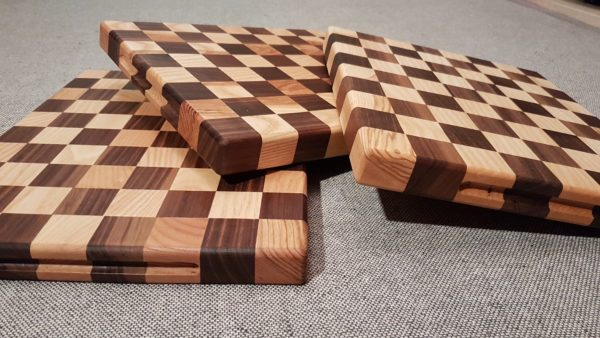 Chequered Chopping Board
