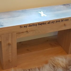 Love Seat Engraved