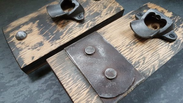 Rustic Cast Iron Bottle Opener