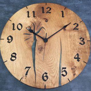 IMG_3073 black and metalic clock
