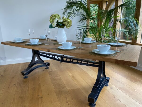 Farmhouse Industrial Table